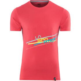 La Sportiva Stripe 2.0 Shortsleeve Shirt Men red